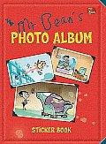 Mr. Bean Photo Album Sticker Book