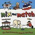 Mix & Match Six Fun Scenes to Search & Find