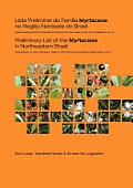 Preliminary List of the Myrtaceae in Northeastern Brazil: Repatriation of Kew Herbarium Data for the Flora of Northeastern Brazil Series, Volume 5 (Repatriation of Kew Herbarium Data for the Flora of  Cover