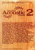 Essential Acoustic Playlist: (Chord Songbook)