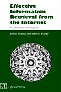 Effective Information Retrieval from the Internet: An Advanced User's Guide