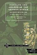 Honours and Awards of the German States.(Die Ehrenzeichen Des Deutschen Reiches)