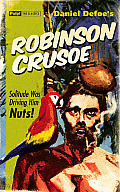 Robinson Crusoe Greeting Card: Pulp Classics Greeting Card