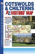 Cotswolds and Chilterns Visitors' Map