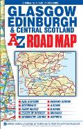 Central Scotland Road Map