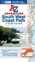 Sw Coast Path South Cornwall Adventure Atlas