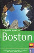 Rough Guide Boston 3rd Edition