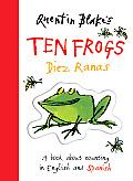 Quentin Blakes Ten Frogs Diez Ranas