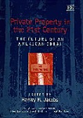 Private Property In The 21st Century The