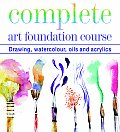 Complete Art Foundation Course Drawing Watercolour Oils & Acrylics
