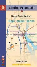 Camino Portugues Maps Mapas Karten Lisboa Porto Santiago