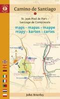 Camino de Santiago Maps - Mapas - Cartes: St. Jean Pied de Port - Roncesvalles - Santiago de Compostela - Finisterre