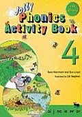 Jolly Phonics Activity Book 4