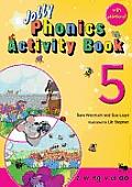 Jolly Phonics Activity Book 5z, W, Ng, V, Oo, Oo