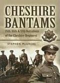 The Cheshire Bantams: 15th, 16th & 17th Battalions of the Cheshire Regiment