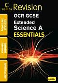 Collins GCSE Essentialsocr 21st Century Extended Science a: Revision Guide