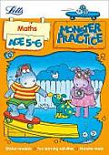 Letts Monster Practice -- Maths Age 5-6