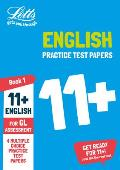 Letts 11+ Success -- 11+ English Practice Test Papers - Multiple-Choice: For the Gl Assessment Tests