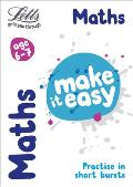 Letts Make It Easy Complete Editions -- Maths Age 6-7: New Edition (Letts Make It Easy)
