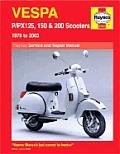 Vespa P Px 125 150 & 200 1978 To 2003
