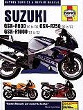 Haynes Suzuki GSX-R600 '01 to '03, GSX-R750 '00 to '03, GSX-R1000 '01 to '02