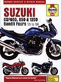 Haynes Suzuki GSF600, 650 & 1200 Bandit Fours