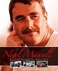 Nigel Mansell Photographic Portrait