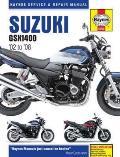 Suzuki GSX1400 Service and Repair Manual: 2002 To 2008