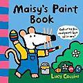 Maisys Paint Book Colouring Fun & Paint Box All in One
