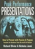 Peak Performance Presentations Tools &