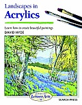 Sbsla32: Landscapes in Acrylics Cover