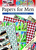 Papers for Men 24 Perforated Papers