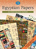 Egyptian Papers: 24 Perforated Papers (Crafter's Paper Library)