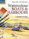 Watercolour Boats & Harbours