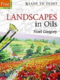 Landscapes in Oils [With Stencils] (Ready to Paint)