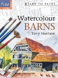 Watercolour Barns [With Free Tracings] (Ready to Paint)