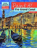 The Grand Canal in Acrylics