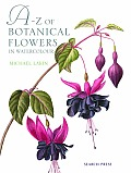 A-Z of Botanical Flowers in Watercolour