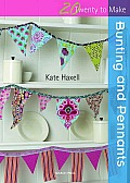 Bunting and Pennants (Twenty to Make) Cover