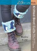 Knitted Boot Cuffs (Twenty to Make) Cover
