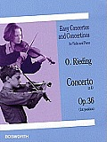 Concerto in D, Op. 36: Easy Concertos and Concertinos Series for Violin and Piano