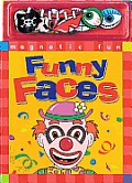 Magnetic Fun Funny Faces