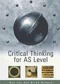 Critical Thinking for AS Level