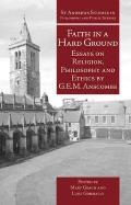 Faith in a Hard Ground: Essays on Religion, Philosophy and Ethics