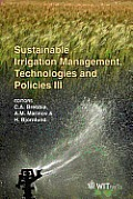 Sustainable irrigation management, technologies and policies III; proceedings