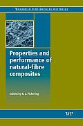 Properties and Performance of Natural-Fibre Composites