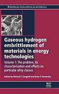 Gaseous Hydrogen Embrittlement of Materials in Energy Technologies: The Problem, Its Characterisation and Effects on Particular Alloy Classes