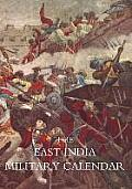 East India Military Calendar; Containing the Services of General & Field Officers of the Indian Army Vol 3