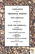 Narrative of the Principal Events of the Campaigns of 1809, 1810, & 1811 in Spain and Portugal