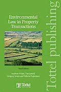 Environmental Law in Property Transactions Third Edition